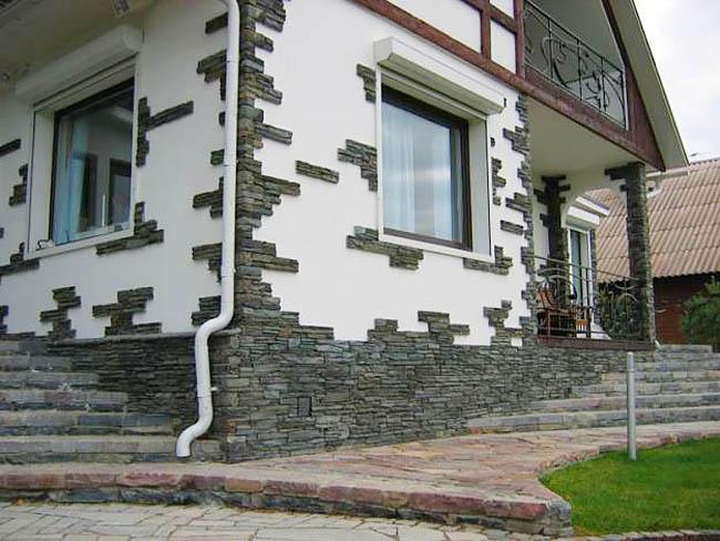 Две группы способов облицовки фасадов